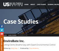 EnviroBate in the US Builders Review Image