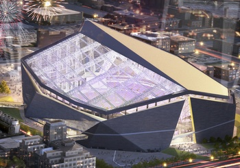 EnviroBate's Role in New Vikings Stadium Thumb Image